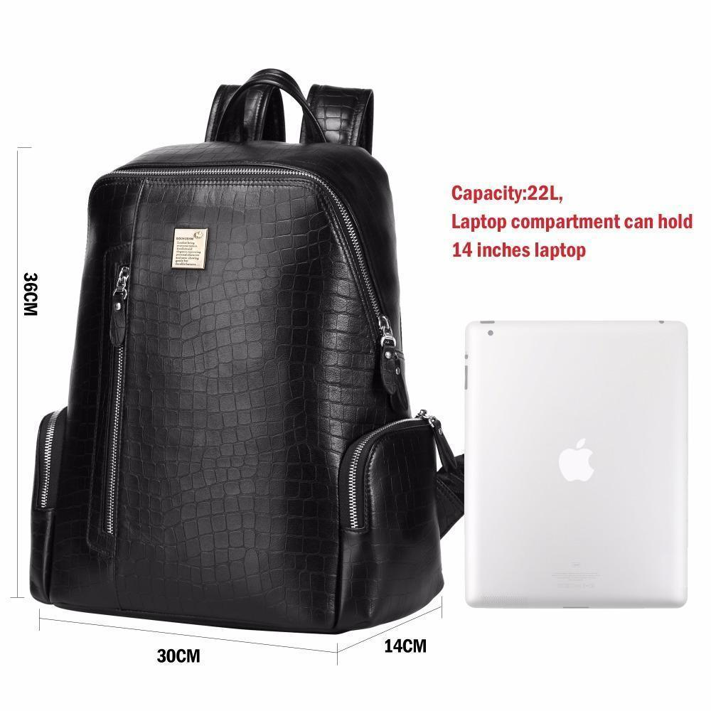 7490441d108a Leather Designer Backpack Laptop- Fenix Toulouse Handball
