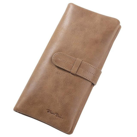 BISON DENIM Classic Leather Wallet - BagPrime - Look Your Best with Amazing Bags