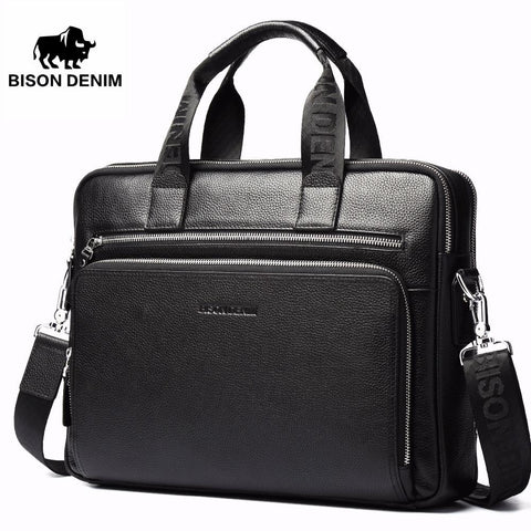 BISON DENIM Leather Sling Bag - BagPrime - Look Your Best with Amazing Bags