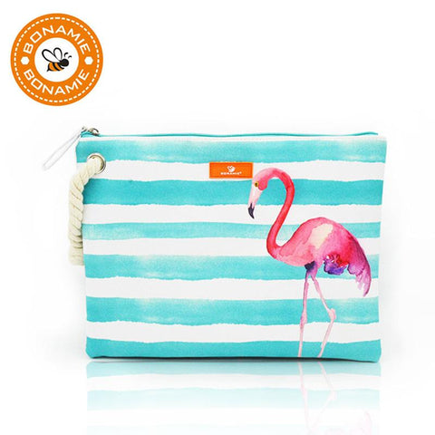 BONAMIE Graphic Print Clutch - BagPrime - Look Your Best with Amazing Bags