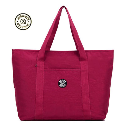 Casual Chic Nylon Travel Bag - BagPrime - Look Your Best with Amazing Bags