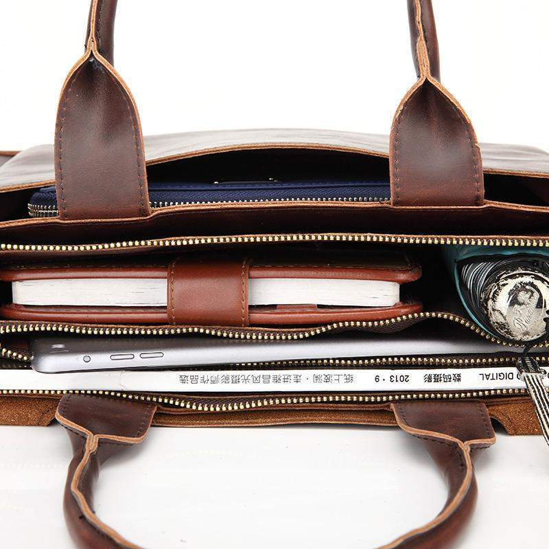 Classic Briefcase Bag - BagPrime - Look Your Best with Amazing Bags