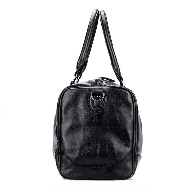 Classic Leather Duffel Bag - BagPrime - Look Your Best with Amazing Bags