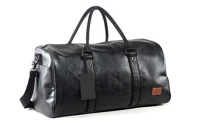 Classic Leather Travel Bag - BagPrime - Look Your Best with Amazing Bags