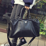 Classy Leather Duffel Bag - BagPrime - Look Your Best with Amazing Bags