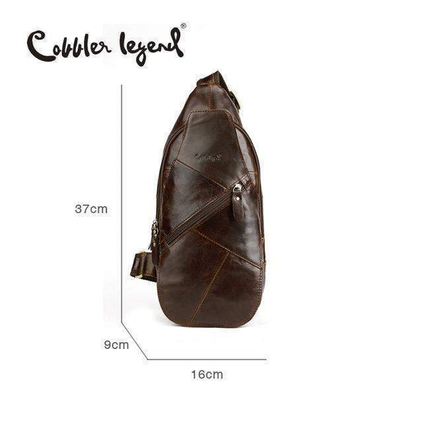 COBBLER LEGEND Chest Pack Messenger Bag - BagPrime - Look Your Best with Amazing Bags