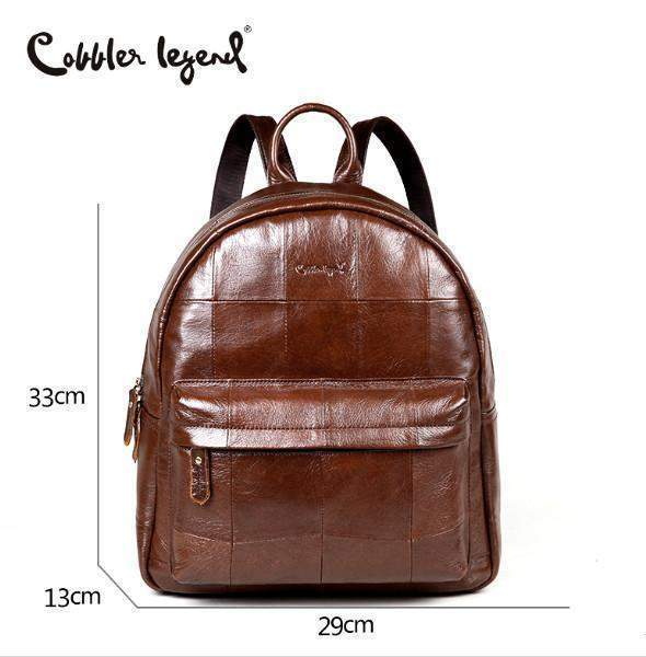 33c00639086c COBBLER LEGEND Leather Backpack - BagPrime - Look Your Best with Amazing  Bags