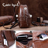 COBBLER LEGEND Leather Backpack - BagPrime - Look Your Best with Amazing Bags