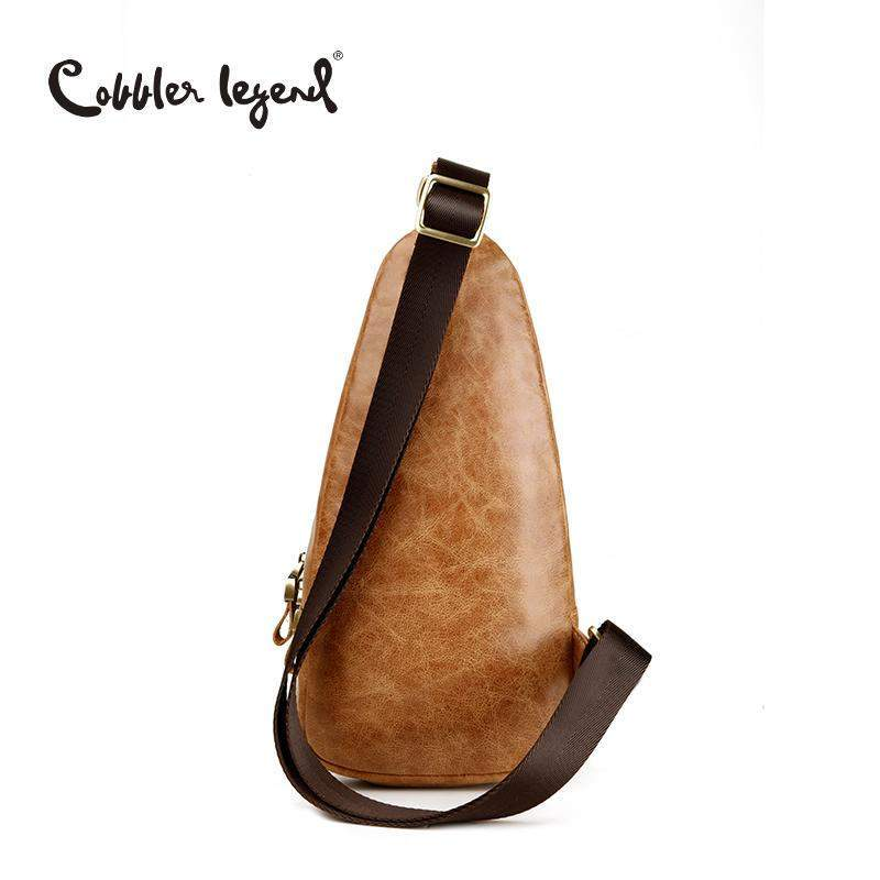 47b767f76663 COBBLER LEGEND Leather Chest Bag - BagPrime - Look Your Best with Amazing  Bags