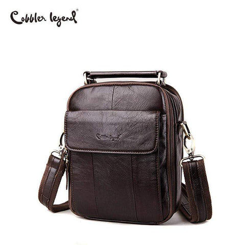 COBBLER LEGEND Leather Messenger Bag - BagPrime - Look Your Best with Amazing Bags