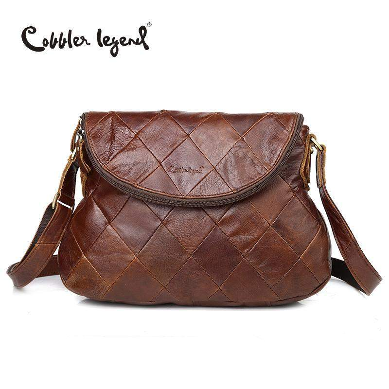 COBBLER LEGEND Patchwork Shoulder Bag - BagPrime - Look Your Best with Amazing Bags