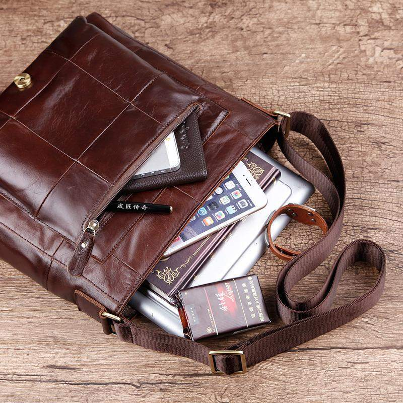 COBBLER LEGEND Retro Messenger Bag - BagPrime - Look Your Best with Amazing Bags
