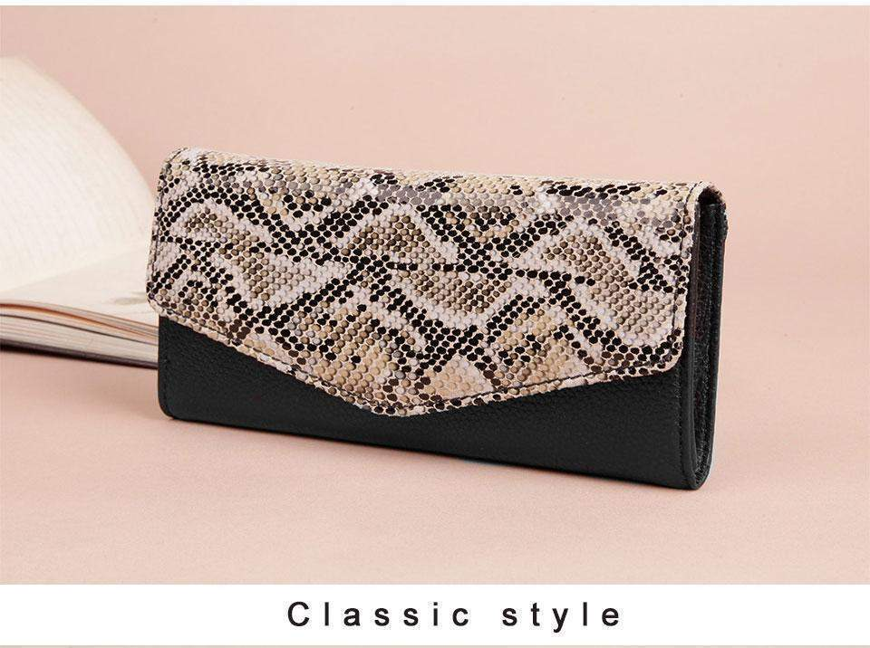 COBBLER LEGEND Snake Print Wallet - BagPrime - Look Your Best with Amazing Bags