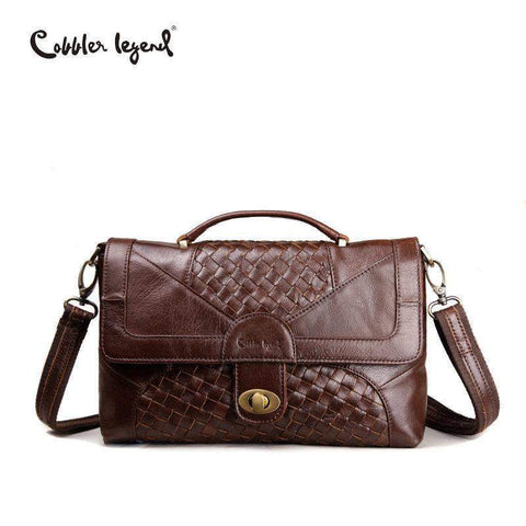 COBBLER LEGEND Woven Style Messenger Bag - BagPrime - Look Your Best with Amazing Bags