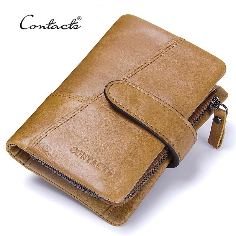 CONTACTS Genuine Leather Men's Wallet - BagPrime - Look Your Best with Amazing Bags
