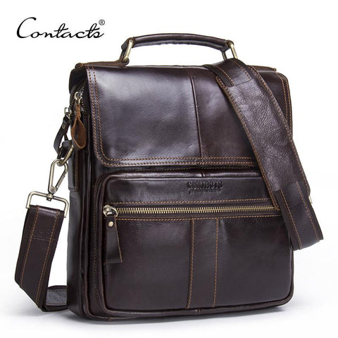 CONTACT'S Vintage Messenger Bag - BagPrime - Look Your Best with Amazing Bags