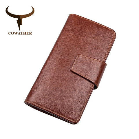 COWATHER Genuine Leather Wallet - BagPrime - Look Your Best with Amazing Bags