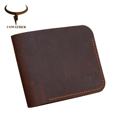 COWATHER Rustic Cowboy-Inspired Square Wallet - BagPrime - Look Your Best with Amazing Bags