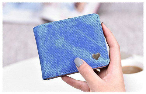 Cute Heart Design Wallet - BagPrime - Look Your Best with Amazing Bags