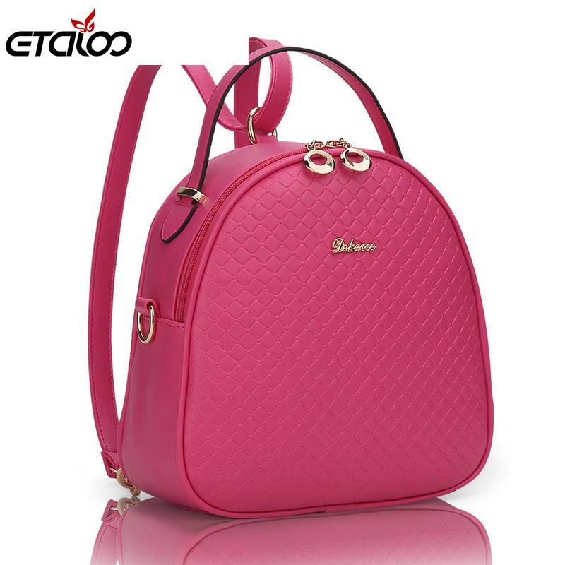 ETALOO Checkered Backpack - BagPrime - Look Your Best with Amazing Bags