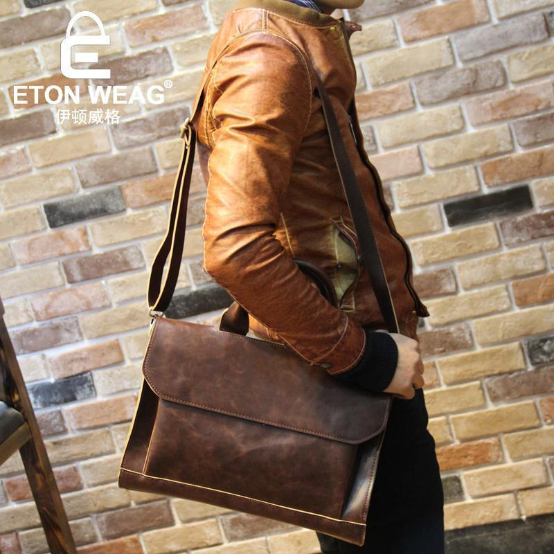 ETONWEAG Leather Briefcase - BagPrime - Look Your Best with Amazing Bags