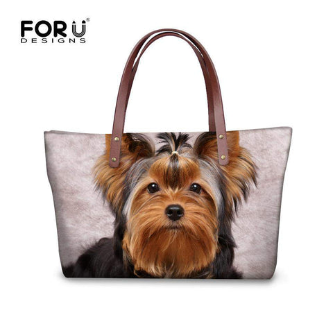FORUDESIGNS Animal Graphic Tote Bag - BagPrime - Look Your Best with Amazing Bags