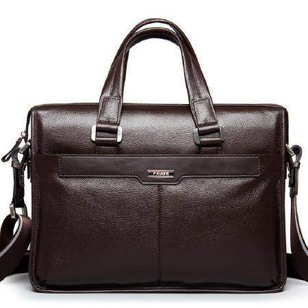 Genuine Leather Briefcase Bag - BagPrime - Look Your Best with Amazing Bags