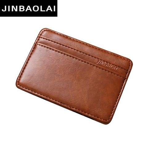 Genuine Leather Card Holder Wallet - BagPrime - Look Your Best with Amazing Bags