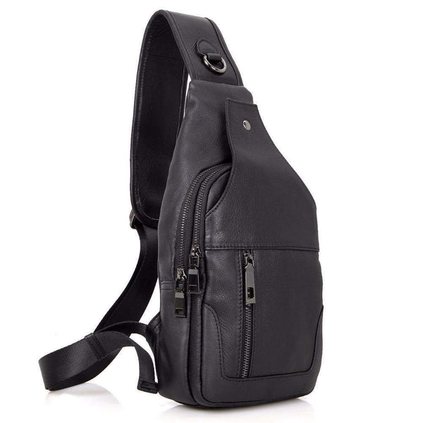 0a9e07326295 ... Genuine Leather Sling Shoulder Bag for Men - BagPrime - Look Your Best  with Amazing Bags ...