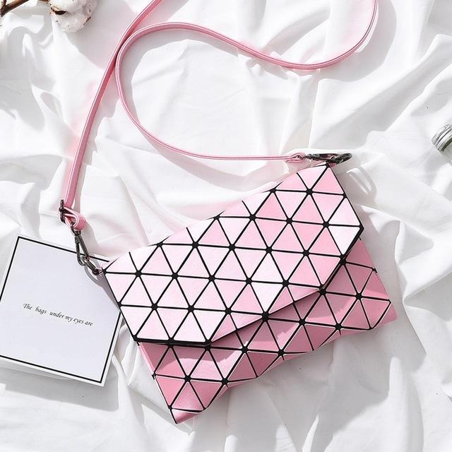 Geometric Inspired Crossbody Bag - BagPrime - Look Your Best with Amazing Bags