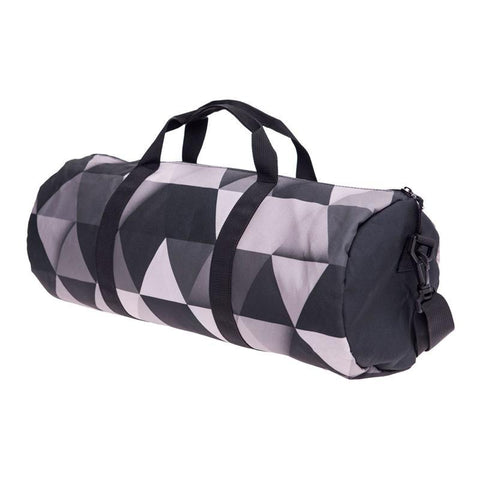 Geometric Print Duffel Bag - BagPrime - Look Your Best with Amazing Bags