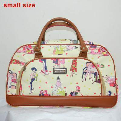 Graphic Print Duffel Bag - BagPrime - Look Your Best with Amazing Bags