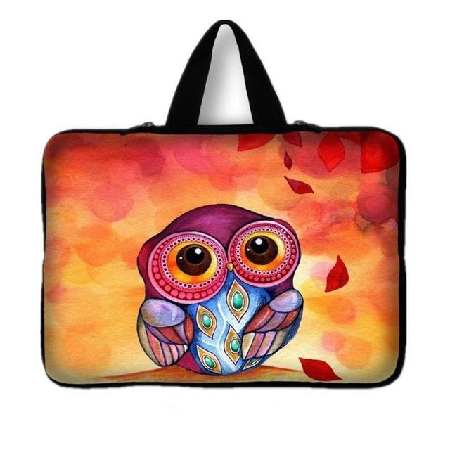 Graphic Print Laptop Bag - BagPrime - Look Your Best with Amazing Bags