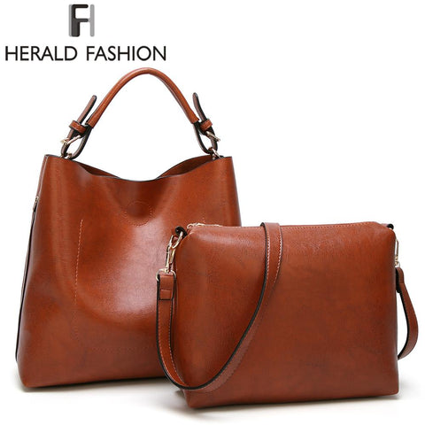 HERALD FASHION Bucket Tote Bag
