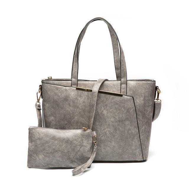 HERALD FASHION Distressed Modern Cool Satchel Bag