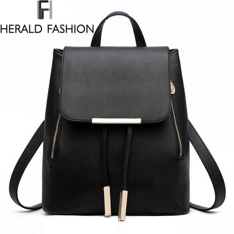 HERALD FASHION Drawstring Backpack - BagPrime - Look Your Best with Amazing Bags