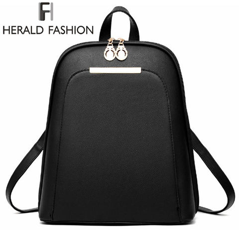HERALD FASHION Modern Classic Backpack - BagPrime - Look Your Best with Amazing Bags