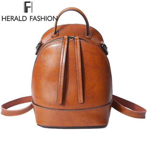 HERALD FASHION Vintage Cool Backpack - BagPrime - Look Your Best with Amazing Bags