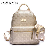 JASMIN NOIR Luxe Backpack - BagPrime - Look Your Best with Amazing Bags