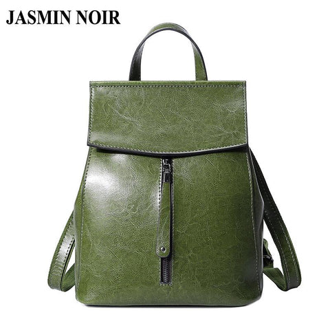 JASMIN NOIR Modern Classic Backpack - BagPrime - Look Your Best with Amazing Bags