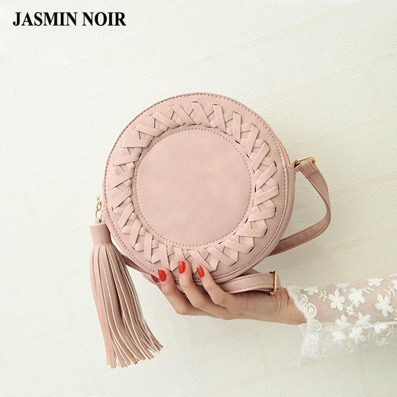 JASMIN NOIR Summer Bag with Tassel - BagPrime - Look Your Best with Amazing Bags