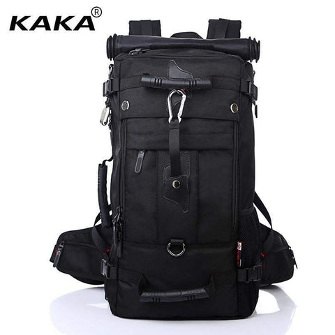 KAKA Waterproof Travel Backpack-bag-bagprime-Black-China-BagPrime - Global Prime Bag Fashion Platform