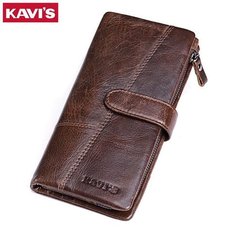 KAVIS Rustic Long Wallet - BagPrime - Look Your Best with Amazing Bags