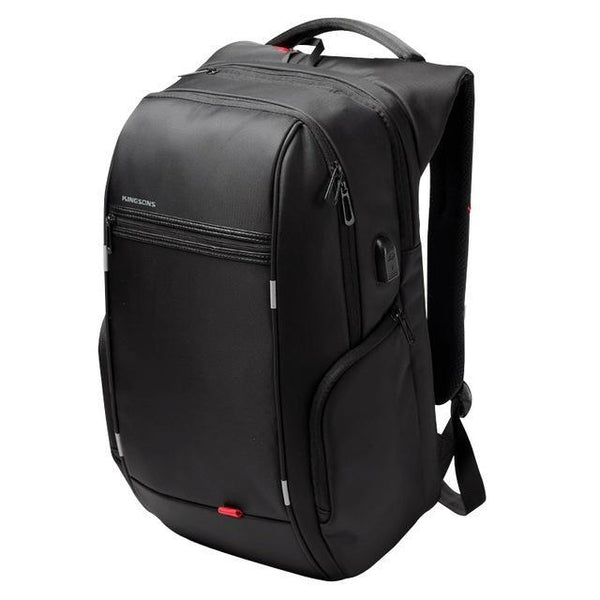 KINGSONS Elite Backpack-bag-bagprime-A KS3140W Black-13 Inches-BagPrime - Global Prime Bag Fashion Platform