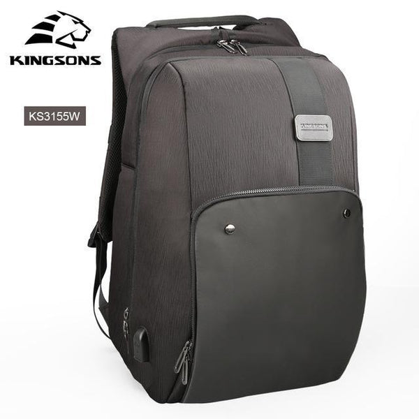 KINGSONS Futuristic Backpack-bag-BagPrime - Global Prime Bag Fashion Platform-KS3155W-China-15 Inches-BagPrime - Global Prime Bag Fashion Platform