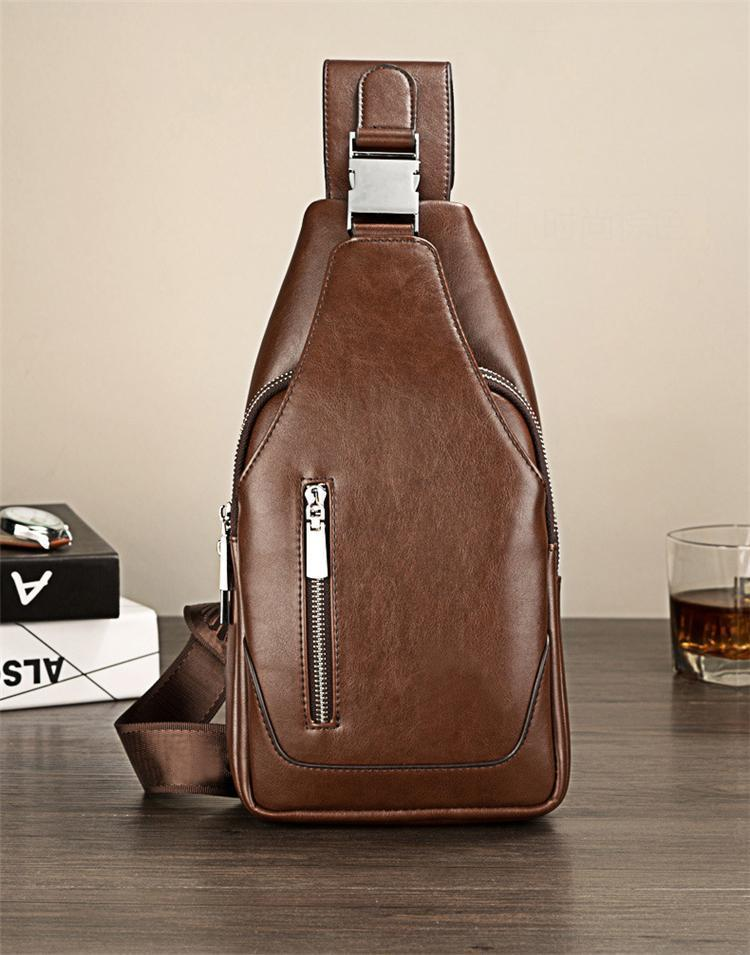 LEINASEN Leather Sling Bag-bag-bagprime-brown-BagPrime - Global Prime Bag Fashion Platform