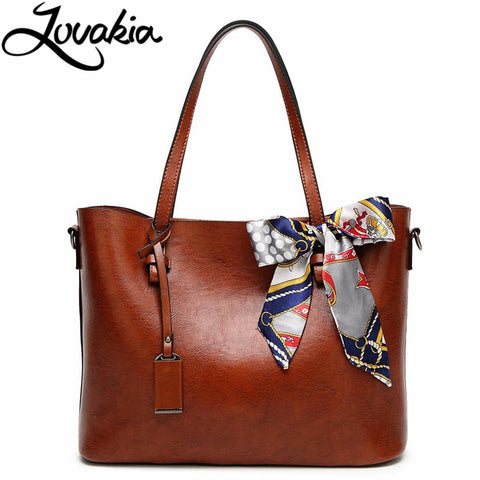 LOVAKIA Shoulder Bag with Ribbon - BagPrime - Look Your Best with Amazing Bags
