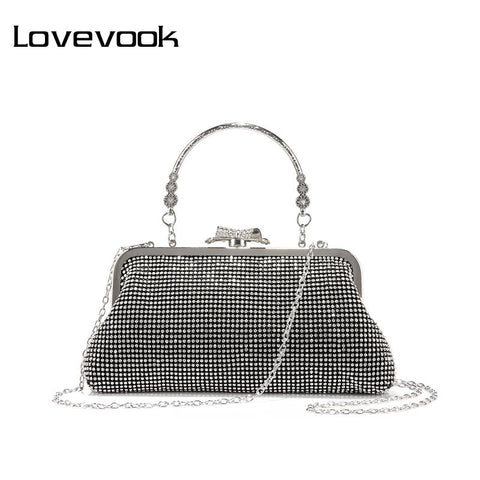 LOVEVOOK Bejeweled Clutch - BagPrime - Look Your Best with Amazing Bags
