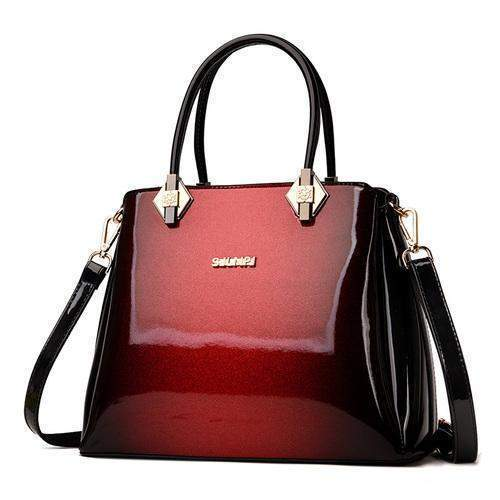 Luxury Patent Leather Shoulder Bag - BagPrime - Look Your Best with Amazing Bags