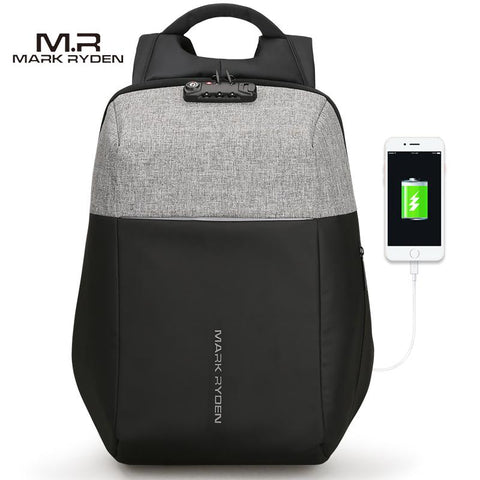 MARK RYDEN Futuristic Backpack-bag-BagPrime - Global Prime Bag Fashion Platform-Anti-thief Black-China-15.6 inch-BagPrime - Global Prime Bag Fashion Platform